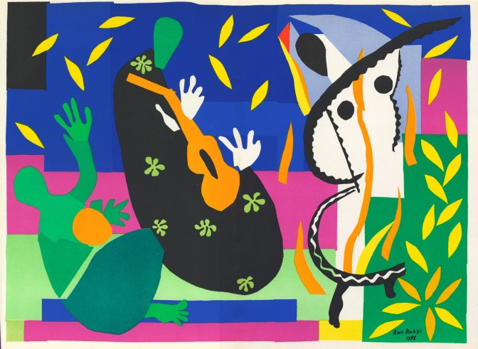 <b>THE INVASION OF COLOR:</b> Matisse's Cut-Outs
