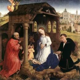 Rogier van der Weyden, Bladelin Triptych, 1445/50, Berlin, Staatliche Museen zu Berlin.
