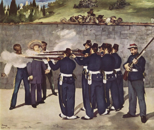 MANET'S EXECUTION