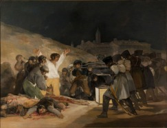 Francisco José de Goya y Lucientes, Third of May, 1808, 1814, Madrid, Museo del Prado.