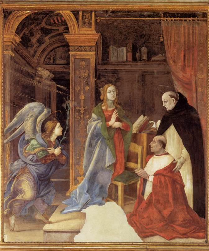 THE QUATTROCENTO ANNUNCIATION
