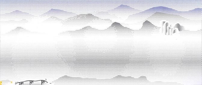 LICHTENSTEIN'S CHINESE LANDSCAPES