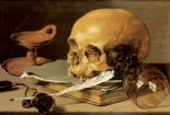 Pieter Claesz, Vanitas Still Life, 1630, (The Hague, Mauritshuis.