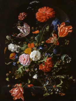 Jan Davidz. van Heem, Floral Still Life, 1669, Cambridge, Fitzwilliam Museum.