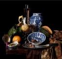 Willem Kalf, Still Live with Porcelain Vase, 1669, Indianapolis Museum of Art.
