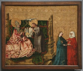 Trinity with the Visitation,