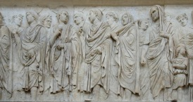 South wall: Procession with Imperial Family