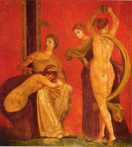 Pompeii, Villa of the Mysteries, c. 60 BC.
