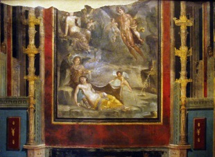 Pompeii, House of the Navigator, c. AD 45.