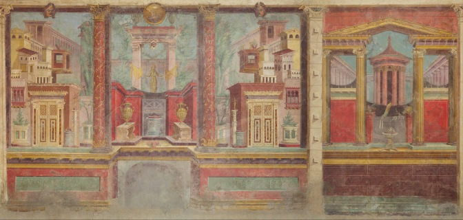 ROMAN WALL PAINTING IN FOUR TAKES
