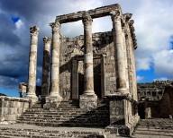 Cuicul (Numidia), Temple of Gens Septimia, c. A.D. 229.