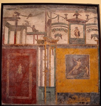 Pompeii, House of the Vestals, c. AD 60.