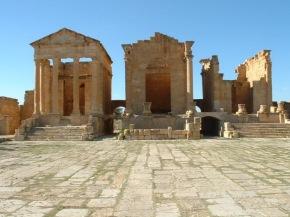 Sufetula (Numidia), Capitolium, c. A.D. 160.