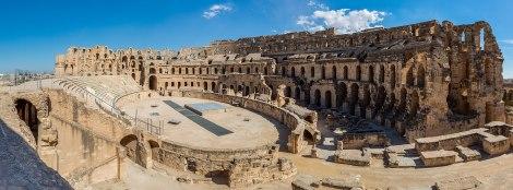 Thysdrus (Africa), Amphitheater, A.D. 238.