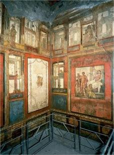 Pompeii, House of the Vettii, Ixion Room, c. AD 65