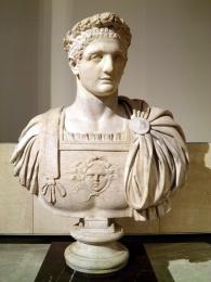 Domitian, c. AD 95, Rome, Musei Vaticani.