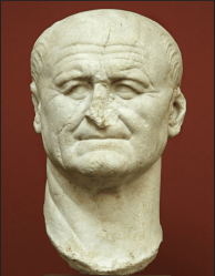 Vespasian, c. AD 70 recut from a bust of Nero.